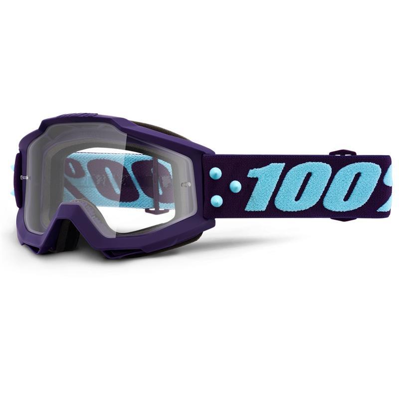 100% Crossbrille Accuri Goggle Clear
