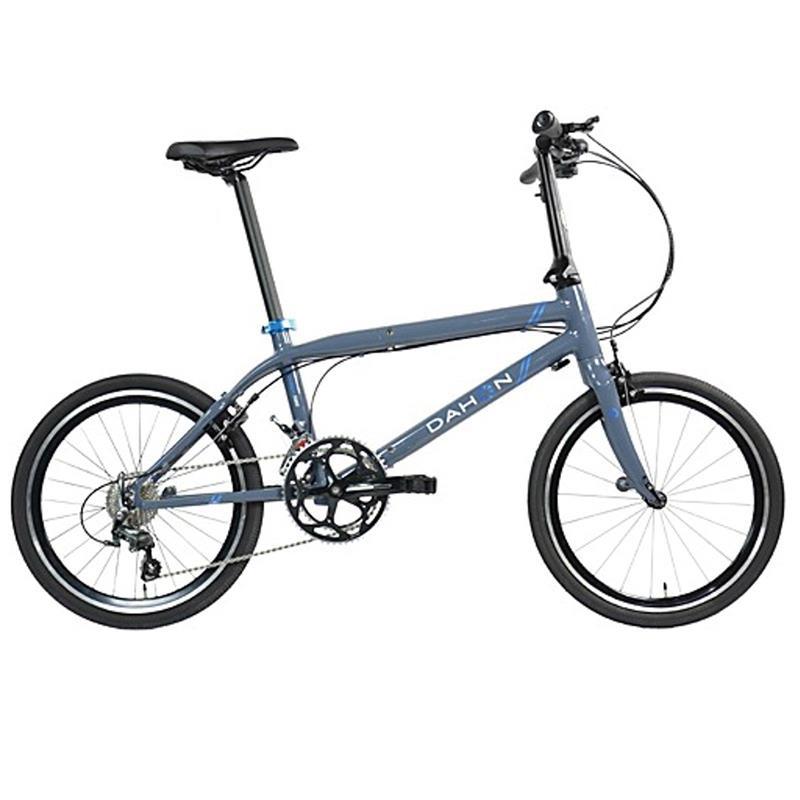 """Dahon Unisex Fahrrad Clinch D20 Faltrad, Grau Blau, 20 Gang, 20"""""""