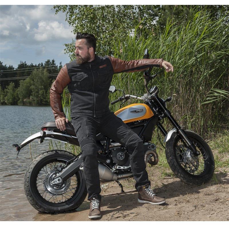 Trilobite Herren Motorradjacke Acid Scrambler