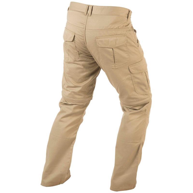 Trilobite Herren Motorradhose Dual Pants 2 in 1, Beige, L32