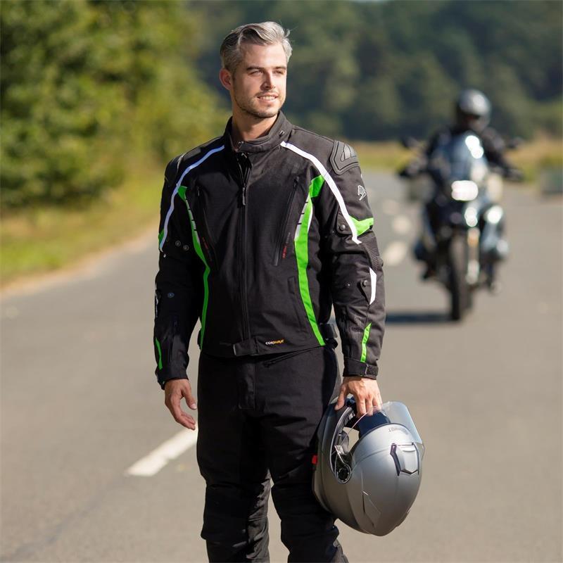 Germot Herren Motorradjacke Sportage