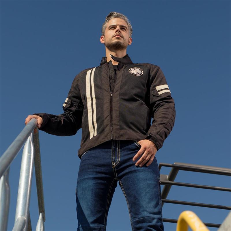 Germot Herren Motorradjacke AirStream Mesh Blouson