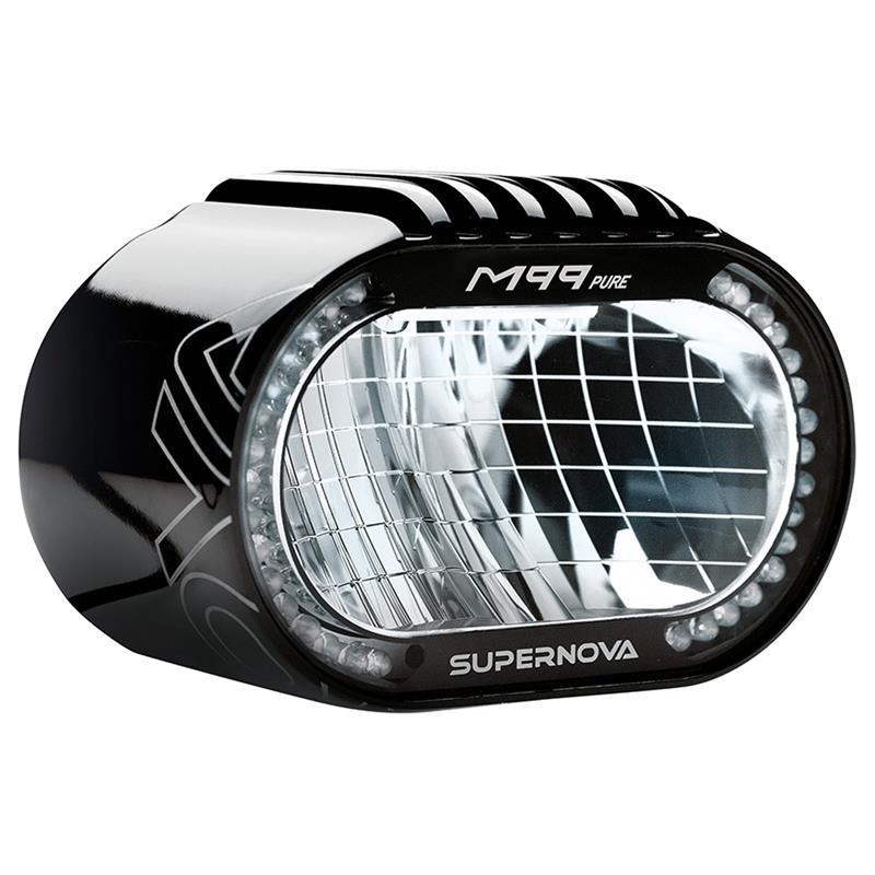 SUPERNOVA LED Scheinwerfer M99 Pure E-Bike, Schwarz