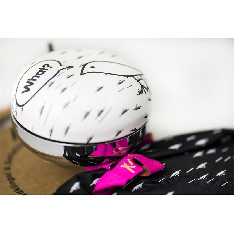 Liix Sattelbezug & Fahrradklingel Set Beauty