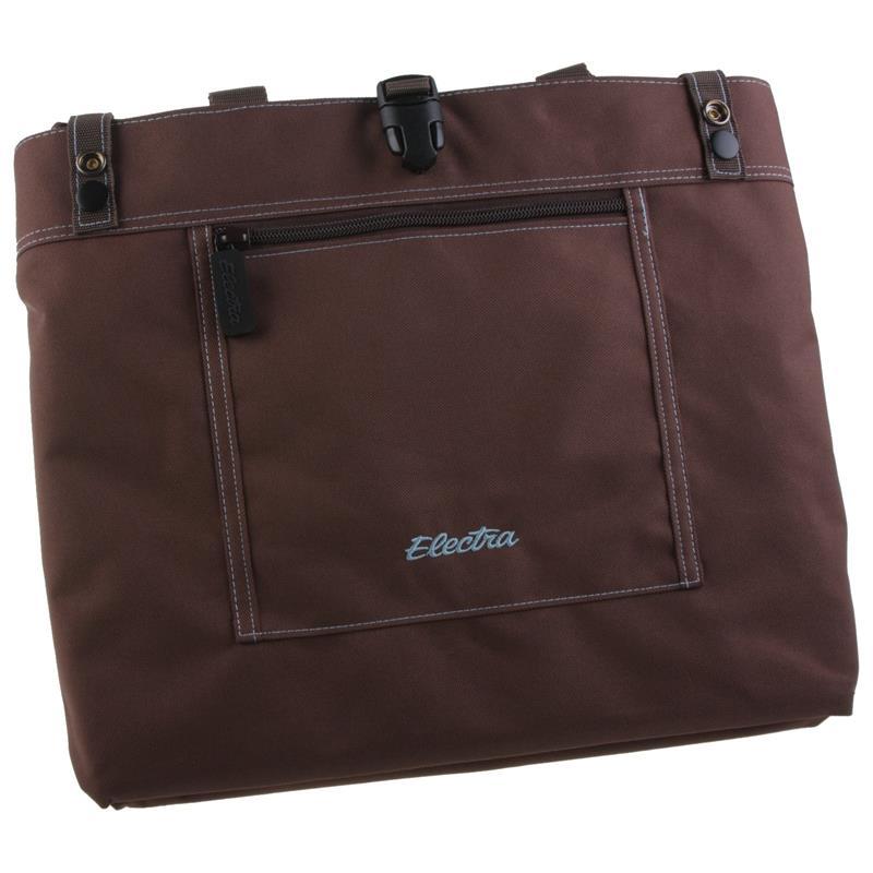 Electra Gepäckträger Tasche Expandable Tote, Braun