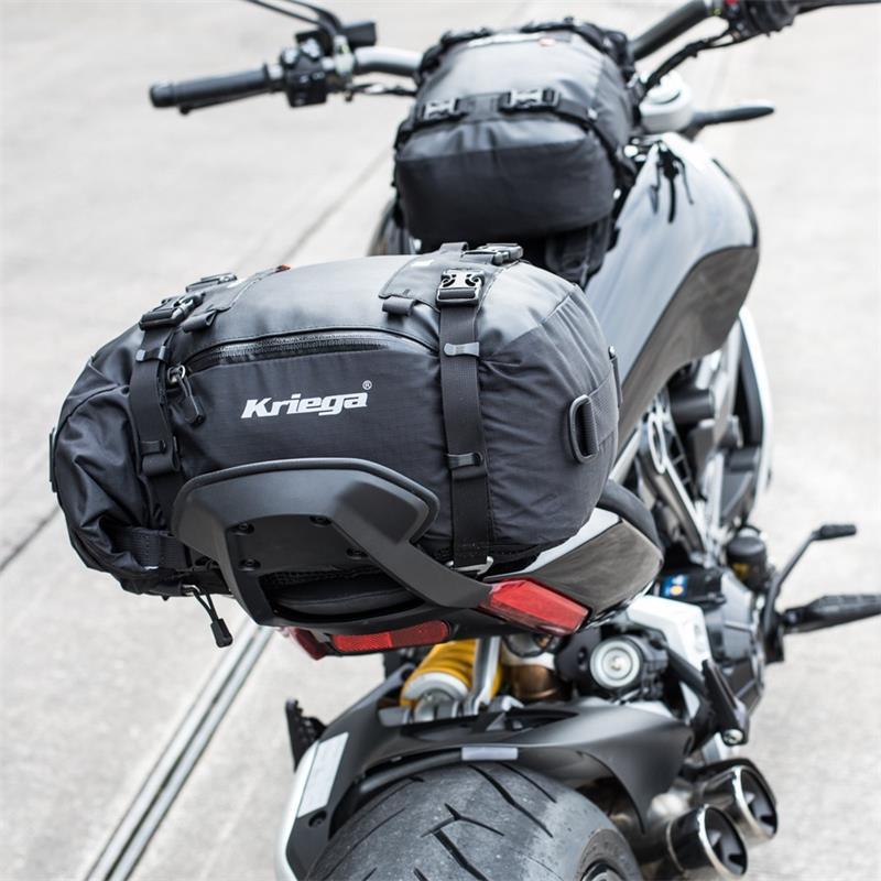 Kriega Befestigungsset US-Drypack Kompatibel mit Ducati XDiavel, Schwarz