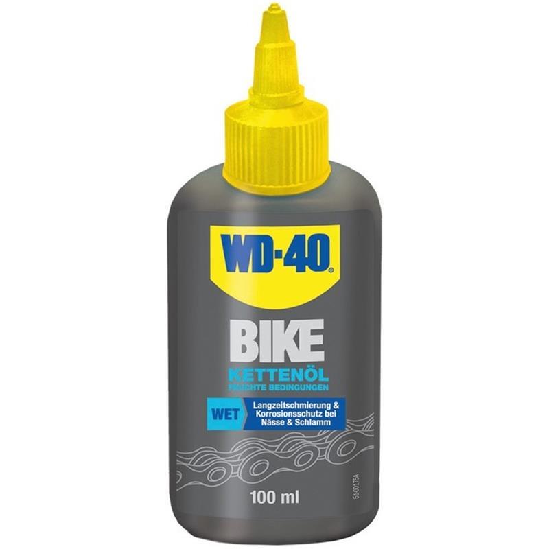 WD-40 Kettenöl Nass BIKE Wet 100 ml