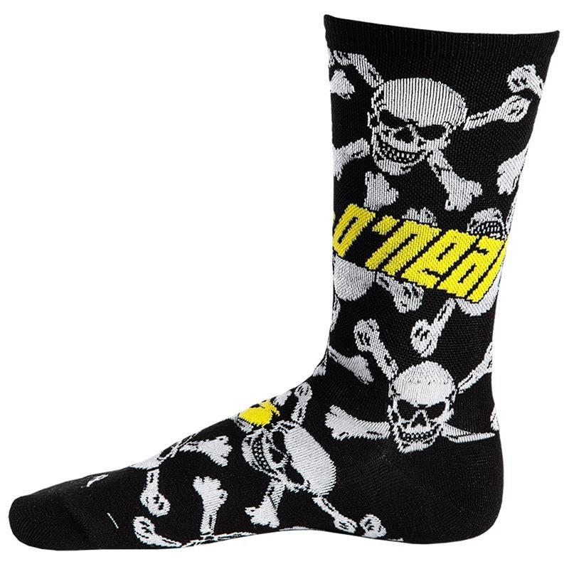 O'NEAL Unisex Socken Crew Crossbone, Weiß