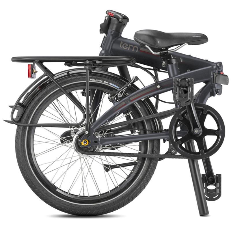 "Tern Unisex Fahrrad Link D7i Faltrad, Schwarz, 7 Gang, 20"""