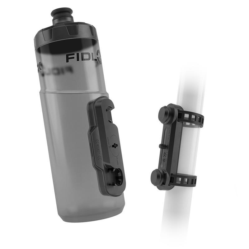 Fidlock Trinkflasche & Halterung Twist Uni Base 600 ml, Schwarz