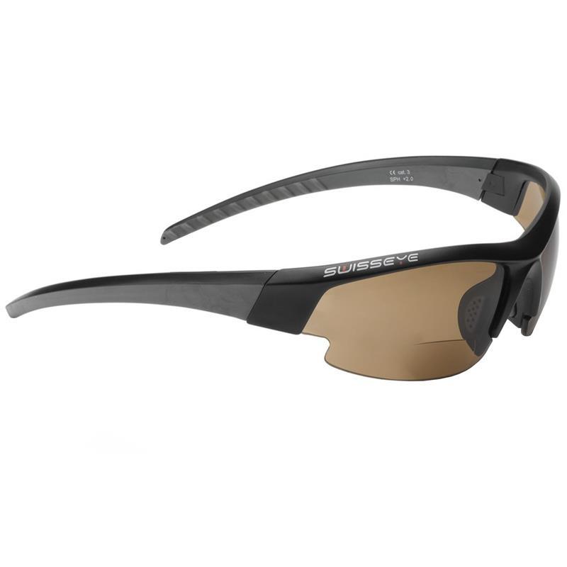 Swisseye Unisex Sonnenbrille Gardosa Evo Bifocal, 2,0 dpt, Schwarz