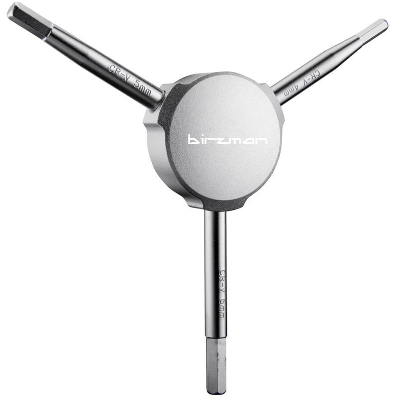Birzman Innensechskantschlüssel Y-Griff 4/5/6 mm, Silber