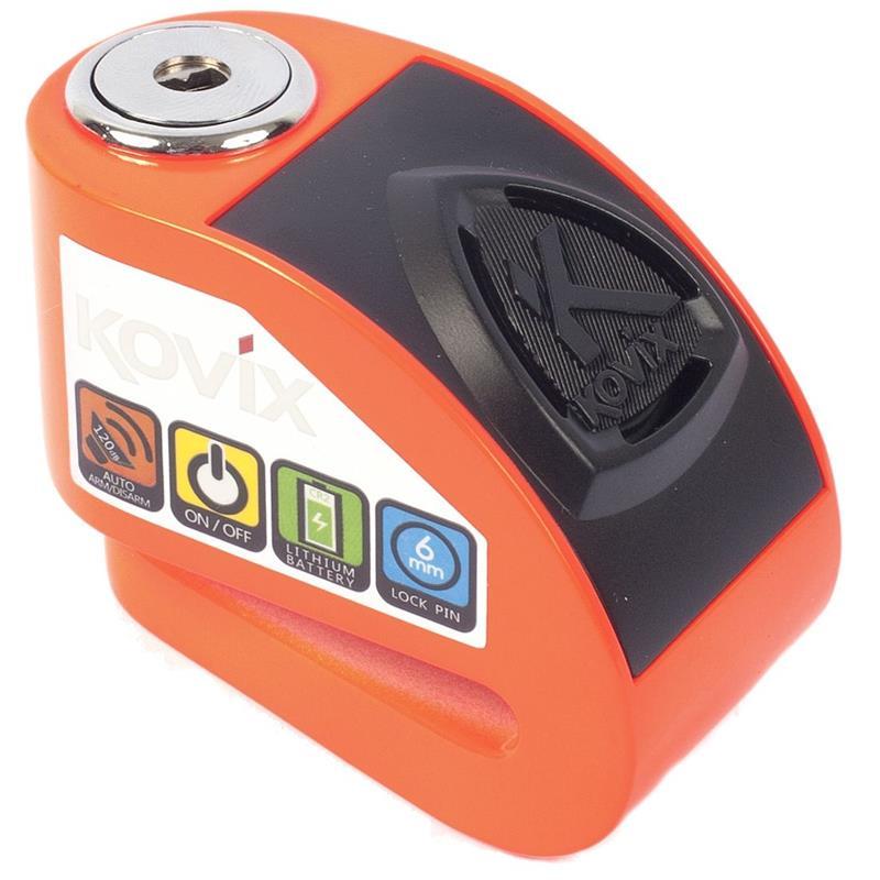 Kovix Alarmschloss Bremsscheibe KD6 6 mm