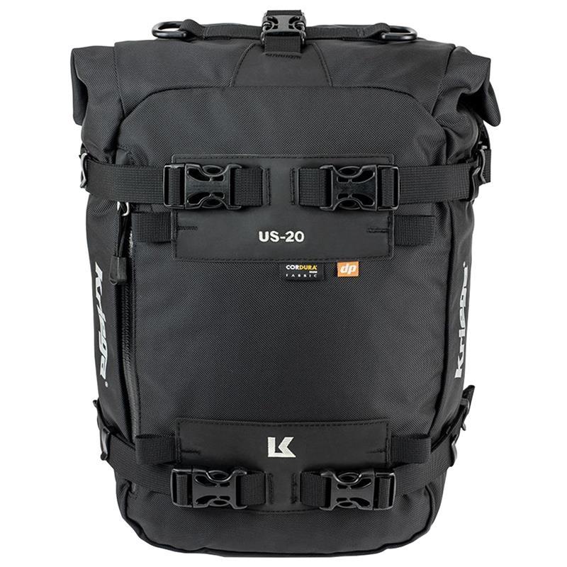 Kriega Motorrad Satteltasche US-20 Drypack, Schwarz, 20 Liter