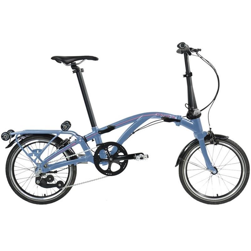 "Dahon Unisex Fahrrad Curl i7 Faltrad, Blau, 7 Gang, 16"""