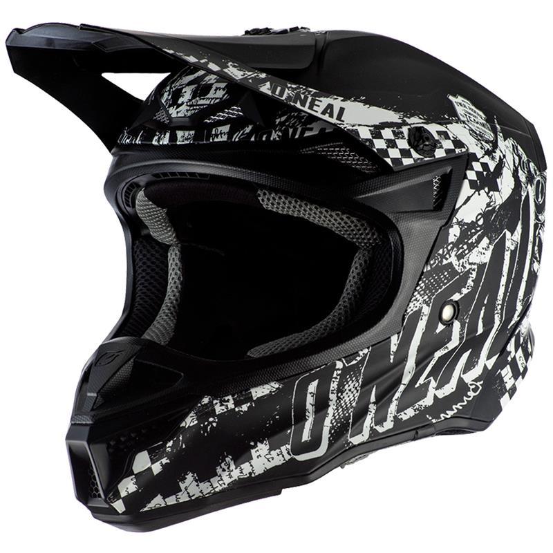 O'NEAL Crosshelm 5SRS Rider, Schwarz