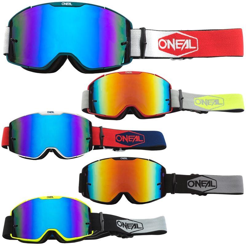 O'NEAL Crossbrille B-20 Goggle Plain Radium
