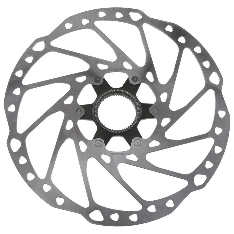 Shimano Bremsscheibe Deore SLX SM-RT64 203 mm, Silber