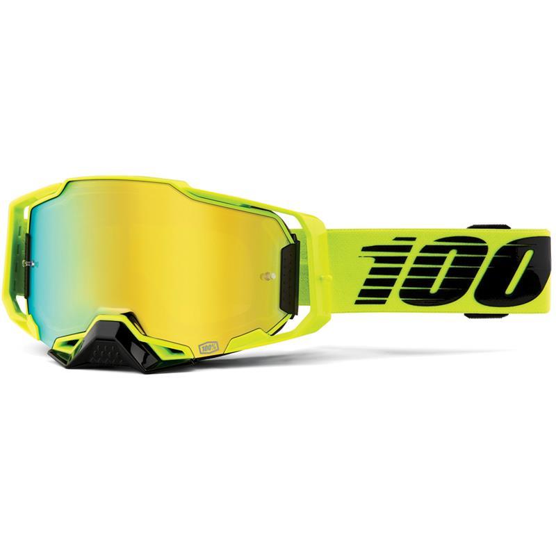 100% Crossbrille Armega Anti Fog Verspiegelt