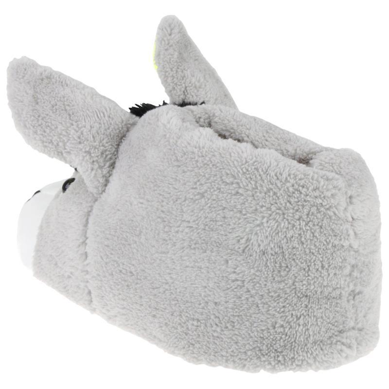 Tierhausschuhe Herren Hausschuhe Esel, Grau