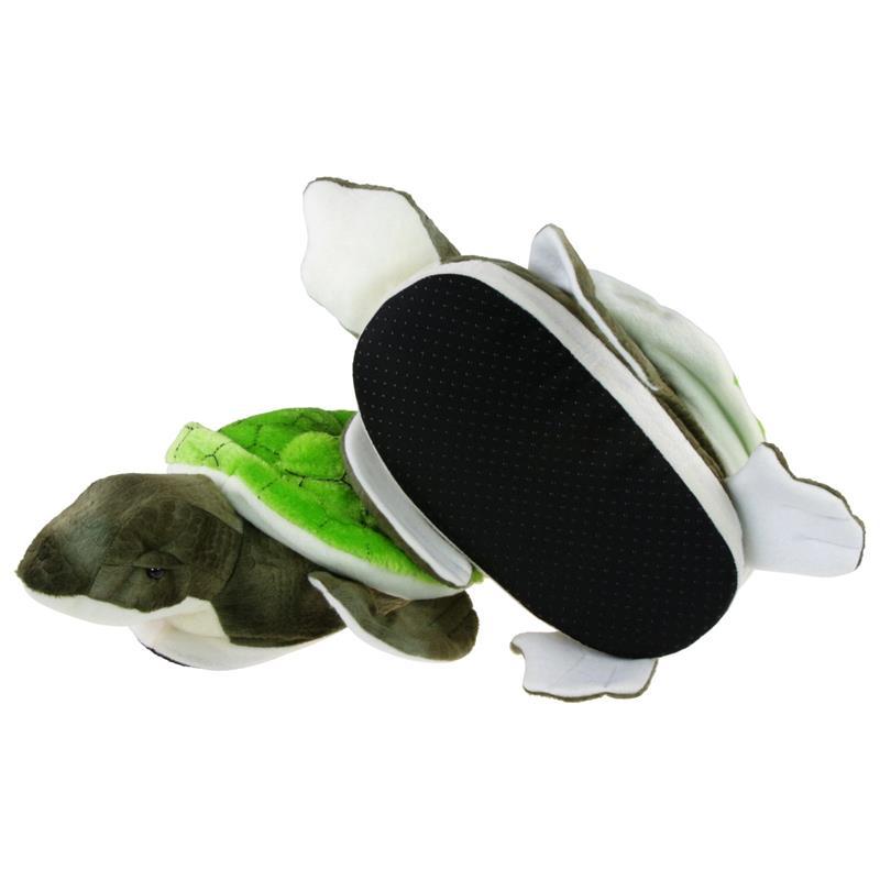 Tierhausschuhe Hausschuhe Schildkröte, Grün