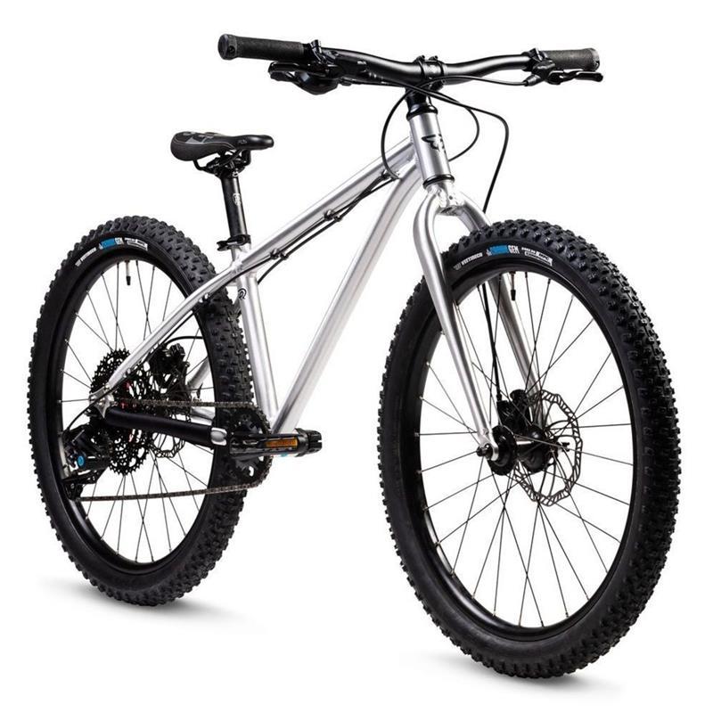 "Early Rider Kinderfahrrad Seeker Mountainbike, 9 Gang, 24"", Silber"