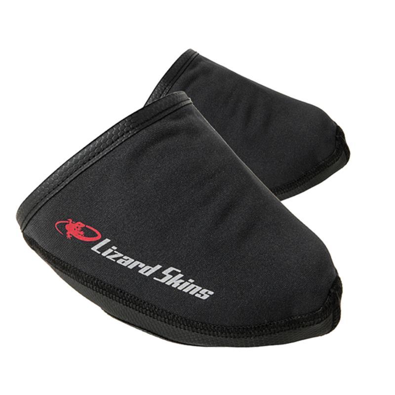 Lizard Skins Unisex Überschuh Dry-Fiant Toe Cover, S, Schwarz