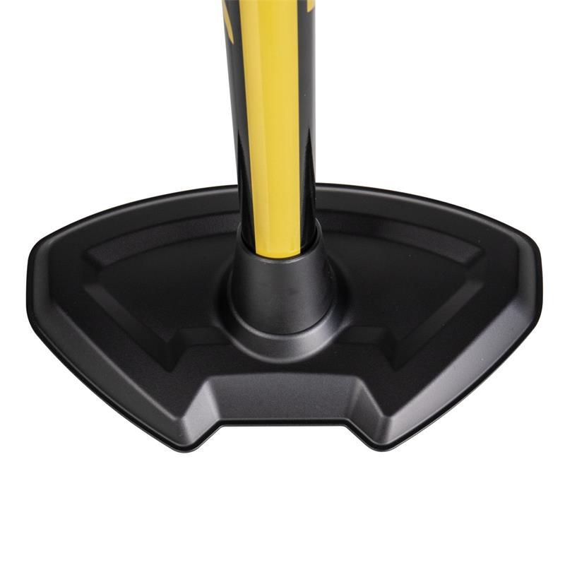 Topeak Standpumpe JoeBlow Pro Digital, Schwarz Gelb