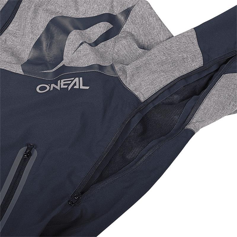 O'Neal Herren Softshell Jacke Cyclone, Blau Grau