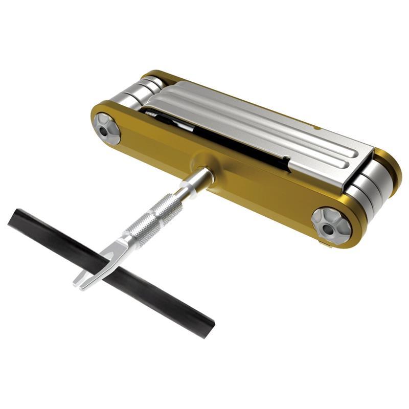 Topeak Multifunktionswerkzeug Tubi 11, Gold