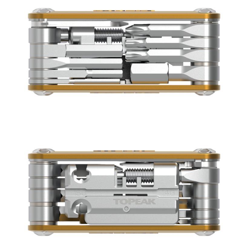 Topeak Multifunktionswerkzeug Mini P20, Gold