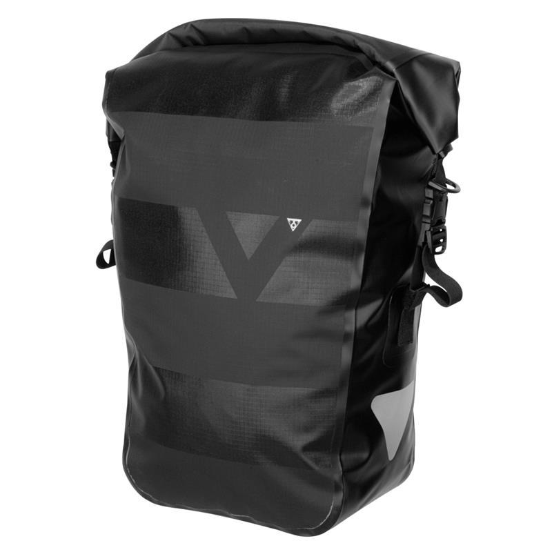 Topeak Gepäckträger Tasche Pannier DryBag 20 Liter, Schwarz