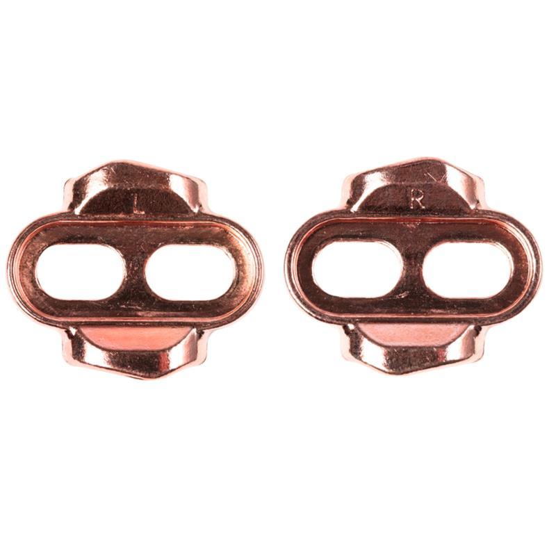 Crankbrothers Pedalplatten 2-Loch Premium Easy Cleat, Kupfer