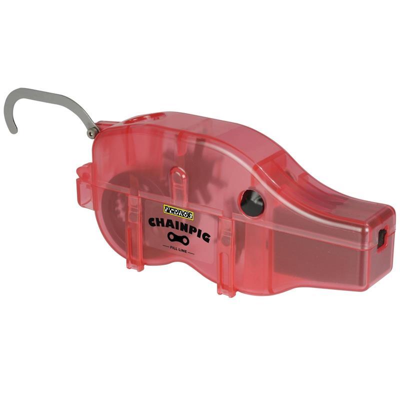 Pedro's Kettenreinigungsgerät Chain Pig Machine II, Rot
