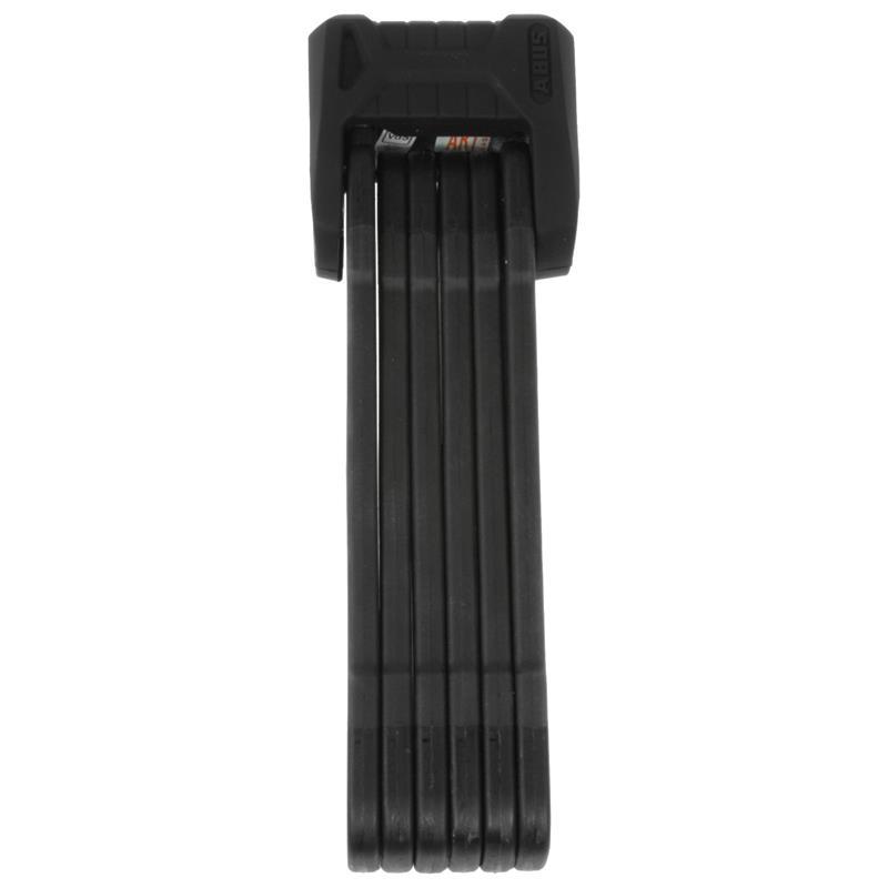 Abus Faltschloss & Rahmenhalterung Bordo Granit X Plus 6500/110, Schwarz