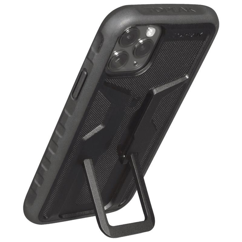 Topeak Handyhülle RideCase Kompatibel mit Apple iPhone 11 Pro Max, Schwarz
