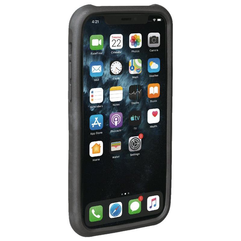 Topeak Handyhülle & Halterung RideCase Kompatibel mit Apple iPhone 11 Pro, Schwarz