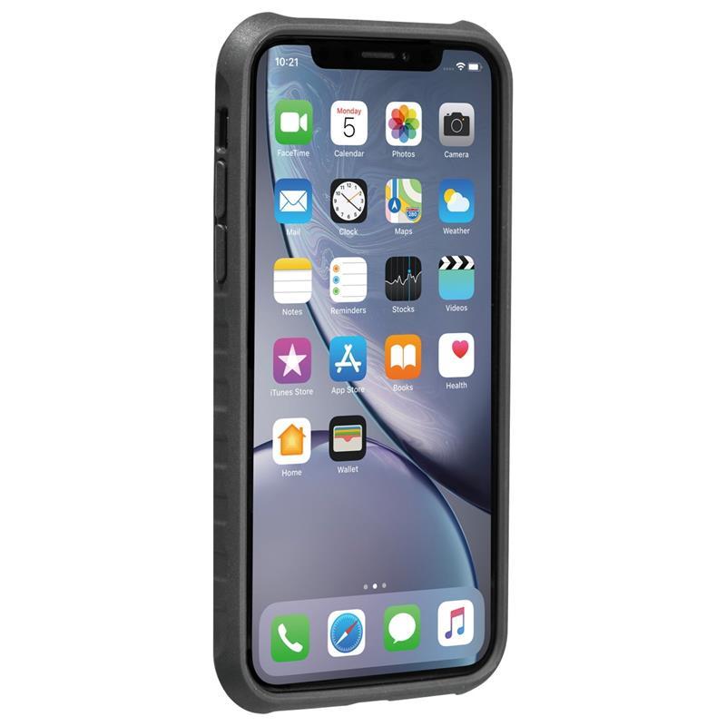 Topeak Handyhülle RideCase Kompatibel mit Apple iPhone XR, Schwarz
