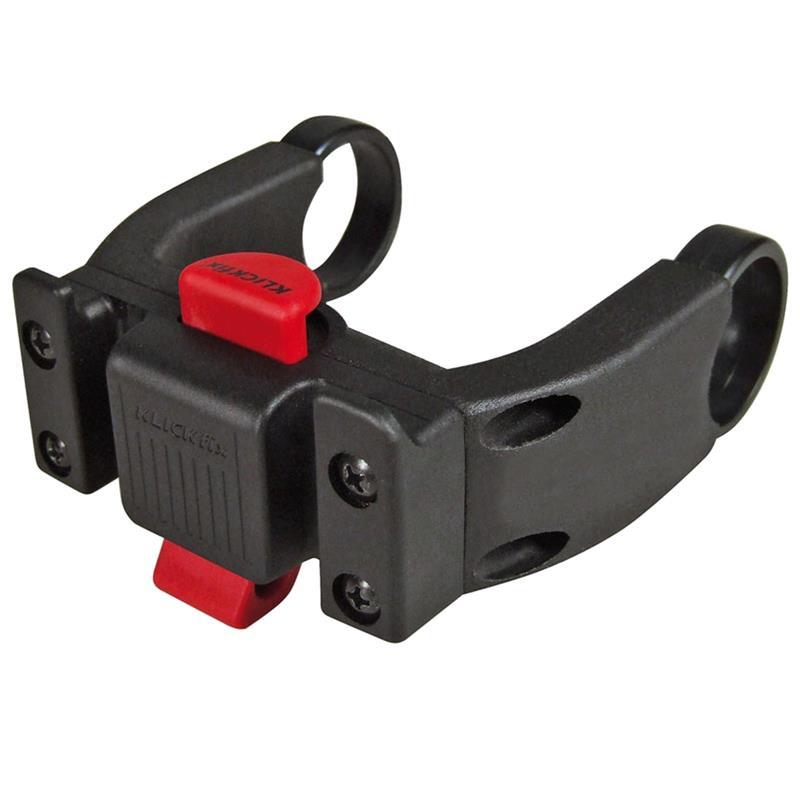 Klickfix Lenkeradapter für E-Bike Displays, Schwarz