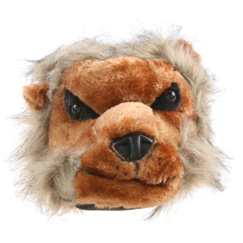 Tierhausschuhe Hausschuhe Löwengesicht