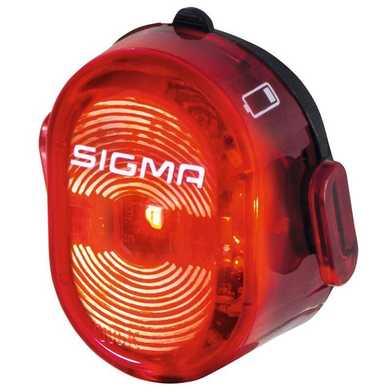 Sigma Sport Akku Rücklicht Nugget II, Schwarz