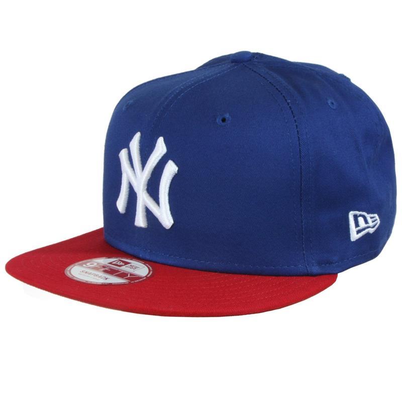 New Era 9Fifty Snapback Cap MLB New York Yankees, Blau Rot