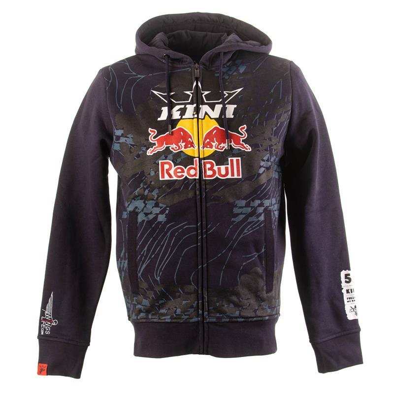 KINI Red Bull Herren Sweatjacke Topography