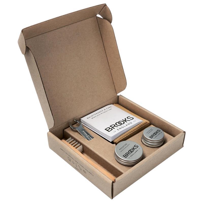 Brooks Pflegeset für Ledersättel Box Premium