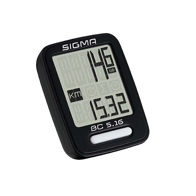 Sigma Sport Fahrradcomputer BC 5.16, Schwarz