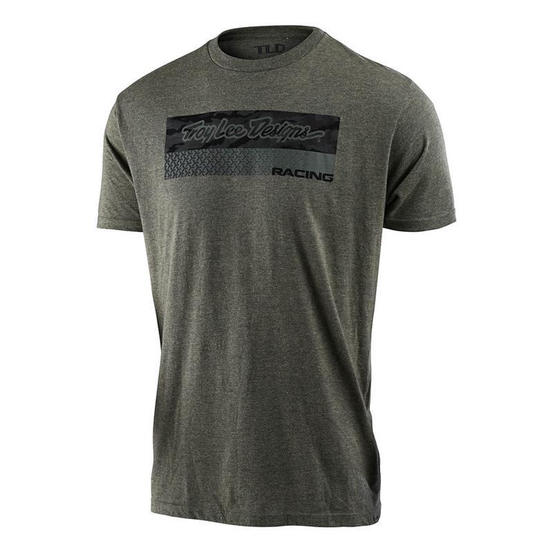 Troy Lee Designs Herren T-Shirt Racing Block Fade