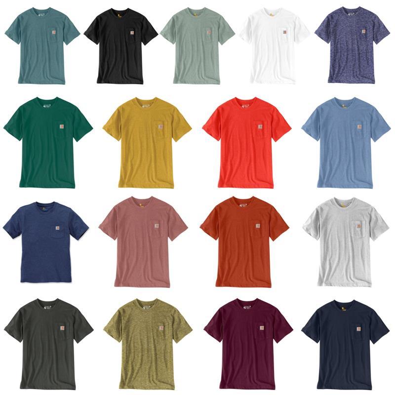 Carhartt Herren T-Shirt Workwear Pocket Short-Sleeve