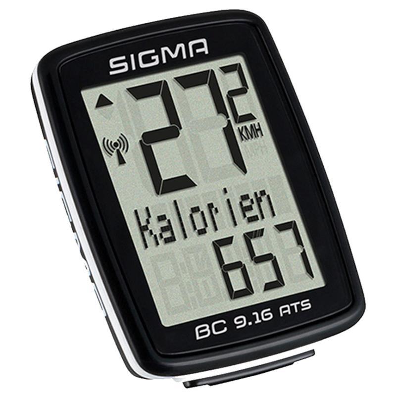 Sigma Sport Fahrradcomputer BC 9.16 ATS, Kabellos