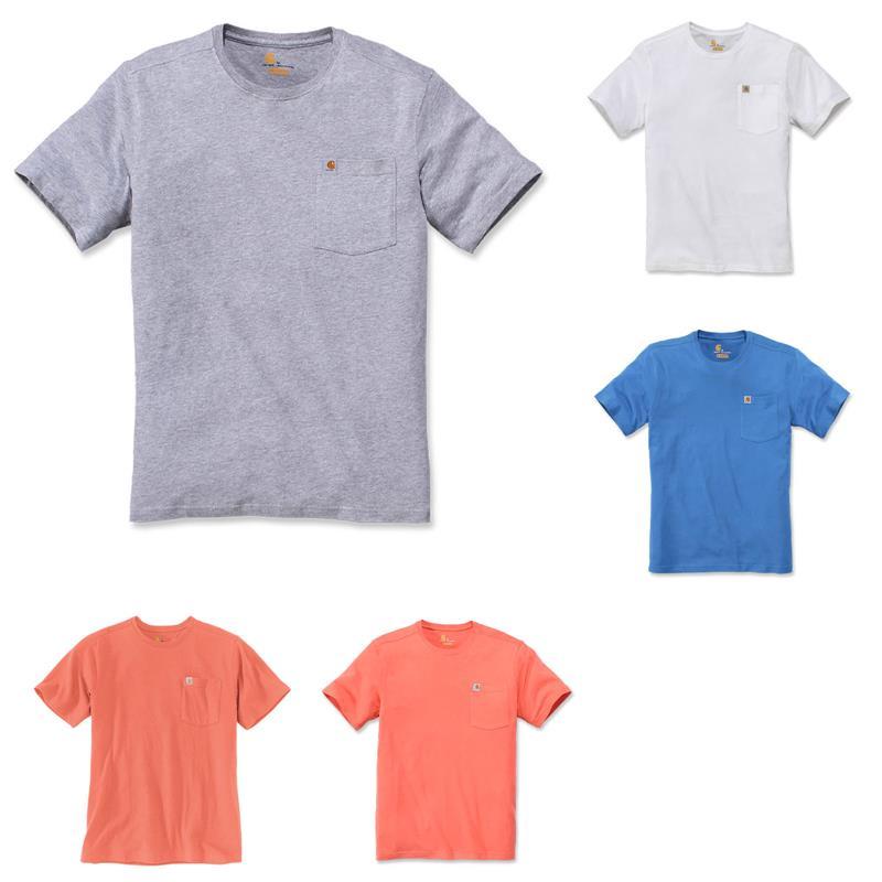 Carhartt Herren T-Shirt Warm Weather Pocket