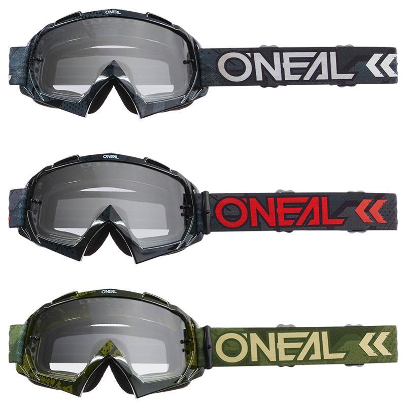 O'NEAL Crossbrille B-10 Camo V.22 Klar